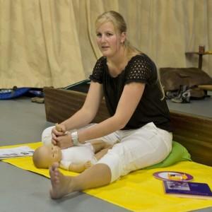 Babymassage gegeven door Diane Molenaar